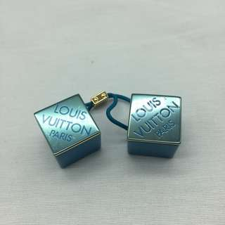 Louis Vuitton Classic Hair Cubes -  Louis Vuitton經典 四方橡筋