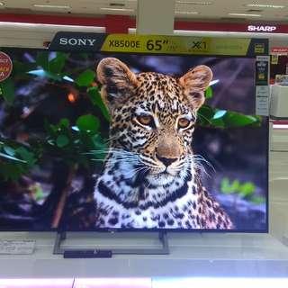 "Penawaran Spesial Sony LED TV 65"" Cicilan Gratis 1x Angsuran Tanpa Kartu kredit"