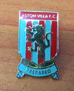 Collectibles...Vintage ASTON VILLA F.C FOOTBALL CLUB