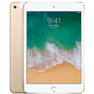 尾牙抽獎贈品【全新未拆】iPad mini4(128GB)-WIFI版/金色