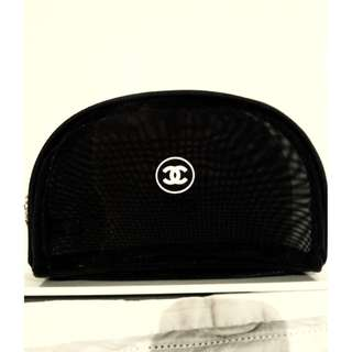 chanel vip mesh makeup bag