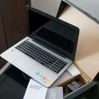 Laptop Asus X441NA Cocok untuk anak sekolah bisa di cicil ( lenovo )