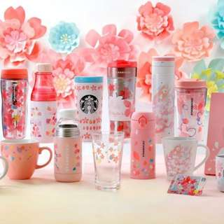 Open PO Japanese Starbucks Sakura Tumbler Edition