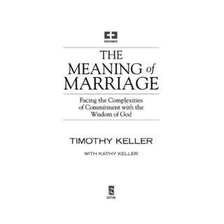 [eBook] The Meaning of Marriage - Timothy Keller