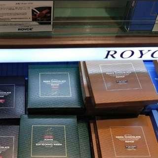 代購 日本北海道品牌 royce 生朱古力 chocolate 巧克力 薯片 japan