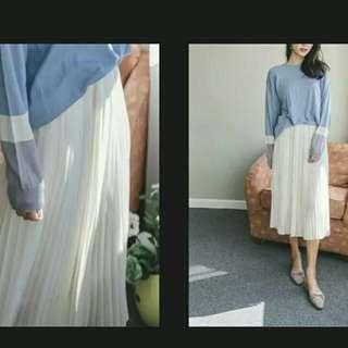 長/短身裙 百摺裙