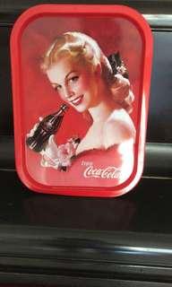 Collectible Antique Coke Metal Tray