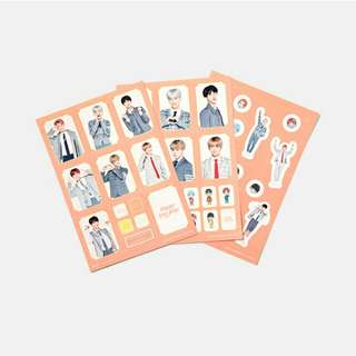 [ READY STOCK ] 4th Muster Sticker Set