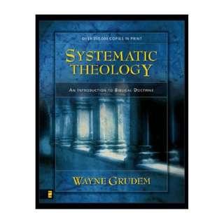 [eBook] Systematic Theology - Wayne Grudem