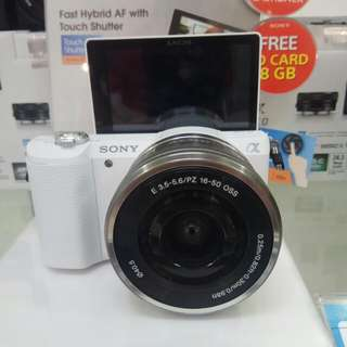 Camera SONY A5100-kit DP 0% Cicilan Tanpa Kartu Kredit Proses Cepat 3menit