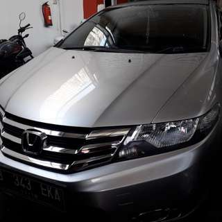 Honda City Rs At 2013 Silver