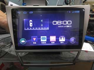 """Toyota Camry 10.1"""" 2008 android player"""