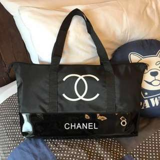 Chanel Tote Travel Bag VIP GIFT AUTHENTIC