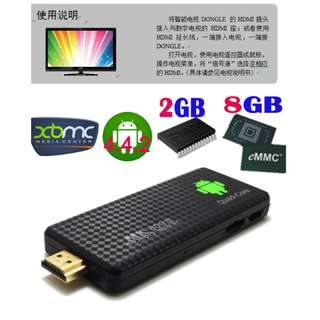 Android TV Box - Quad Core Mini PC with Bluetooth HDMI - 4核高清安卓機頂盒(網絡播放器)- S1103