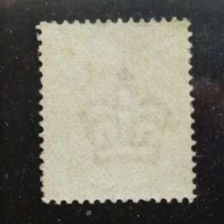 lapyip1230] 大英帝國(130年古董新票) 1887年 維多利亞 金票 半便士 Mint