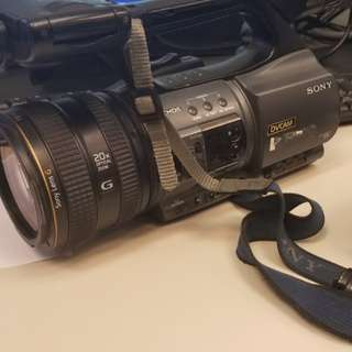 Sony PD-177P and A1 Video Cam