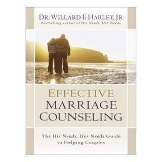 [eBook] Effective Marriage Counseling - Willard F. Harley, Jr