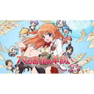 Daitoshokan No Hitsujikai Indo Text Episode Lengkap