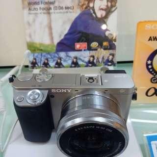 Camera SONY A6000 Body-kit DP 0% Cicilan Tanpa Kartu Kredit Cepat 3menit