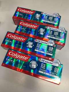 高露潔珐瑯質護理美白牙膏