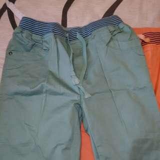 秋季長褲二件