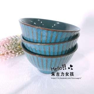 🍓朱古力女孩生活雜貨食器🍓 ✨【020218】青粉引刻紋飯碗✨