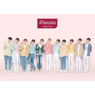 WANNA ONE X Pleasia