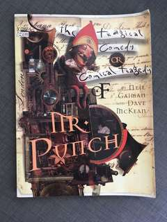 Neil Gaiman: The Tragical Comedy or Comical Tragedy of Mr Punch
