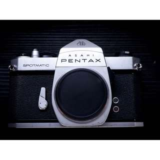 Pentax Spotmatic SP vintage film camera