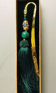 Forbidden city souvenirs book mark