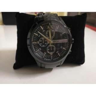 阿瑪尼手錶男錶,美國旅行自行買回,買入價格220¥美元,現便宜出售