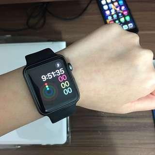 Apple watch 2 series 1 black 42mm fullset