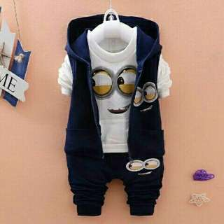 Set jaket minion