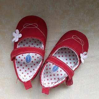 Red Crib Shoes