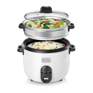 HARI INI SAJA FAST & SERIOUS SALE Black & Decker 1.8L automatic rice cooker RC1860-B1