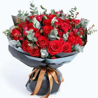 Flower Bouquet∕Hand Bouquet∕Birthday Bouquet∕Anniversary Bouquet∕Proposal Bouquet - 72E8