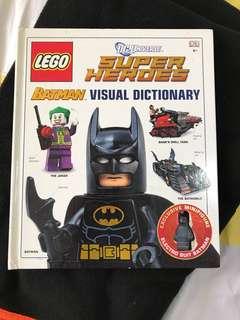 Lego Batman sg universe Super heroes visual dictionary
