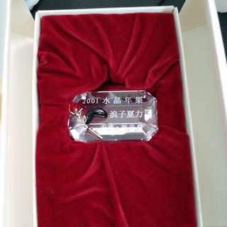 SWAROVSKI 2001 SCS 浪子夏力名牌NEW IN BOX
