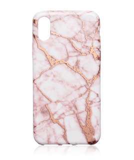 iPhone X marble cover