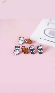 We Bare Bear Earstud (PO)