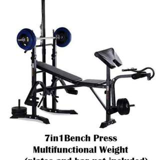 7 in 1 Bench Press