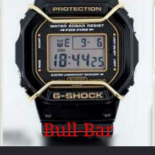 CUSTOM FOR:Casio G Shock DW5600/G5600E/GW5610 Compatible Bull Bar.Limted Time and While Stocks Last!