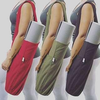 Yoga Mat Bag , cotton Canvas