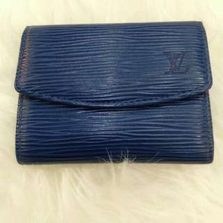 Preloved Authentic LV Epi Leather Coin Case