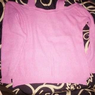 Sabrina knit baby pink'lucu