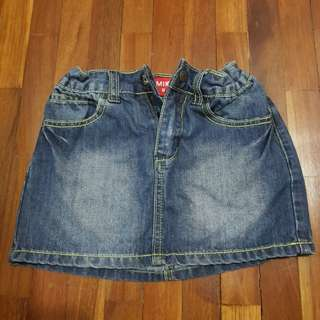 Girl Denim Skirt #20under