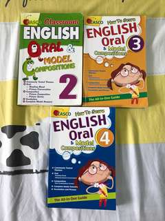 Casio English oral and model composition