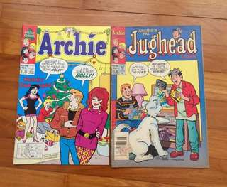 Comics-Archie / jughead/Betty & Veronica