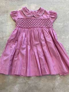 Belly Buttons smocked dress for girl