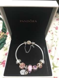Pandora 手鏈(戴過可小議)
